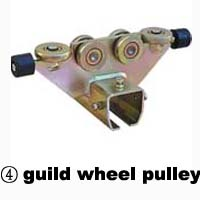 Guild wheel pulley