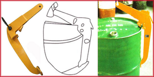 YQC oil drum lifting clamps